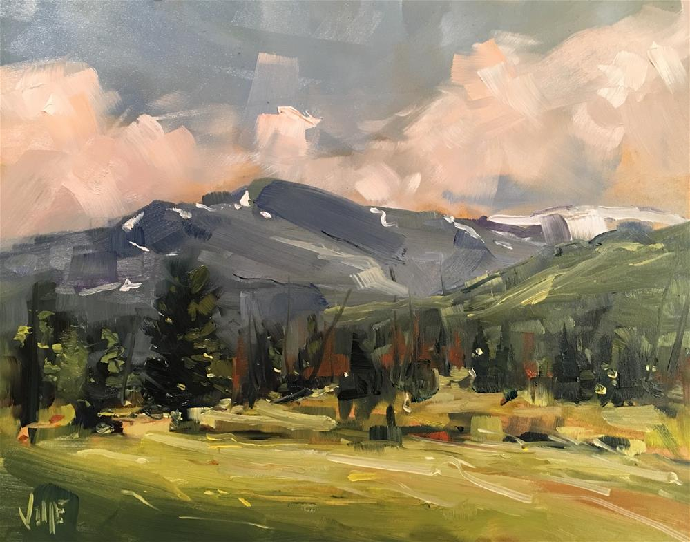 """328 Over Yonder"" original fine art by Patty Voje"