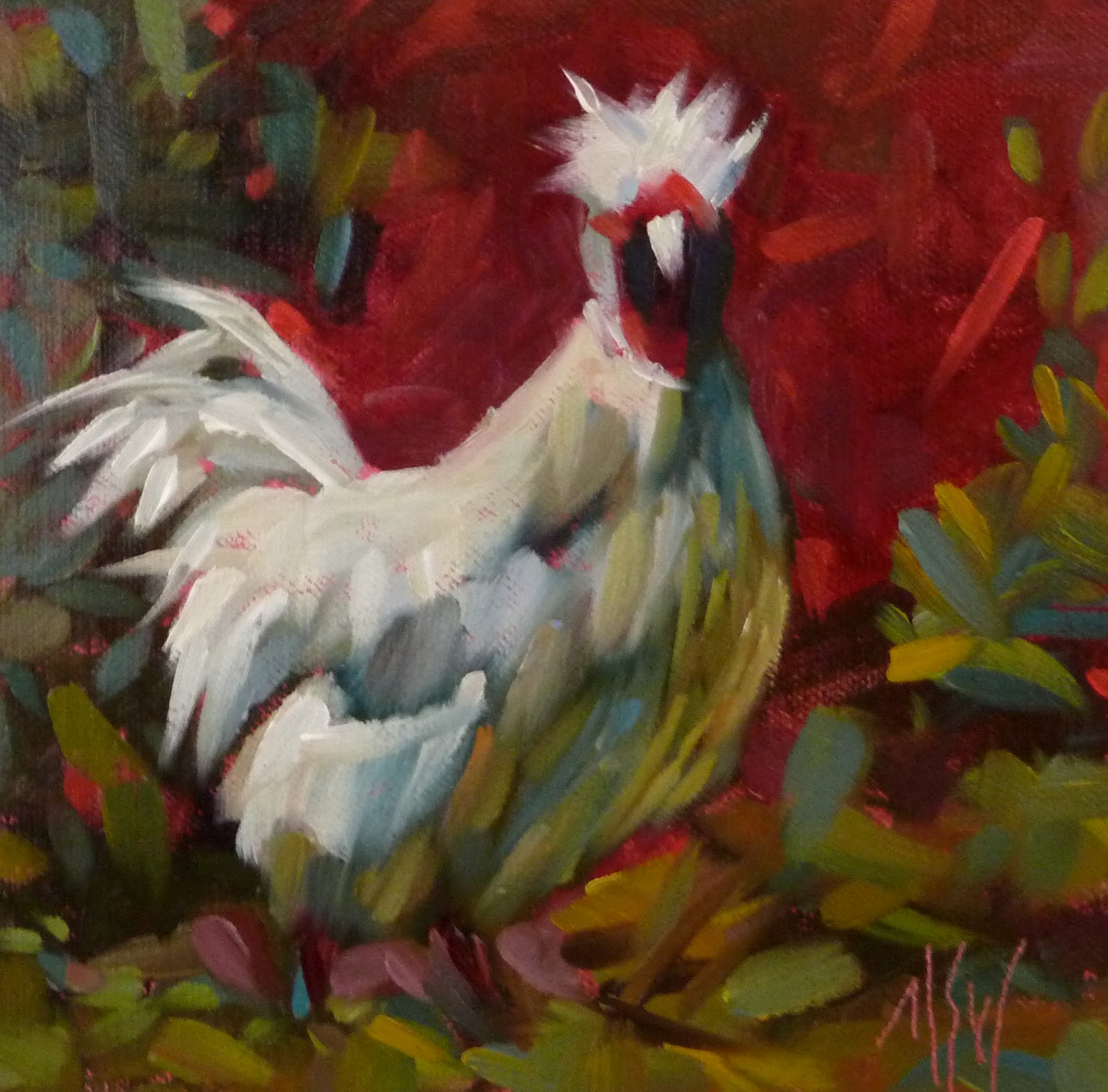"""Today! Studio Drop In 1-5"" original fine art by Mary Sheehan Winn"