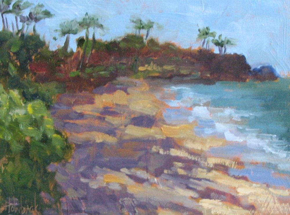 """Kaanapali Beach, Maui Hawaii"" original fine art by Pam Holnback"