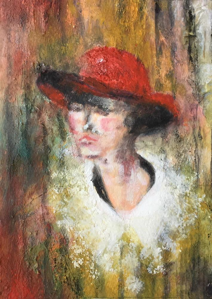 """Nora"" original fine art by Monica Pinotti"