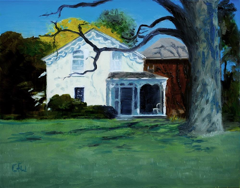 """House Across the Road"" original fine art by Gary Westlake"