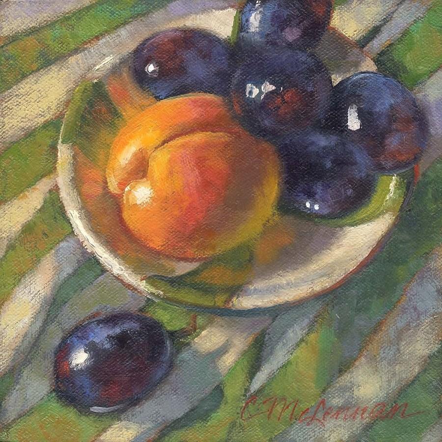 """Good Morning"" original fine art by Connie McLennan"