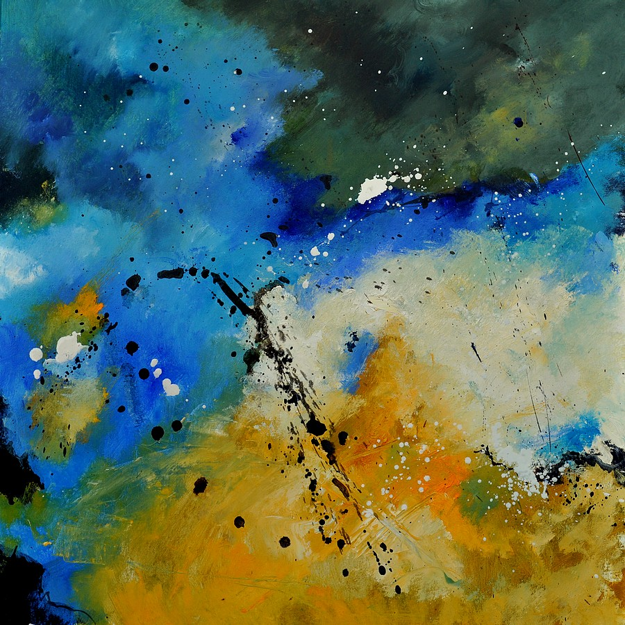 """abstract 6611603"" original fine art by Pol Ledent"