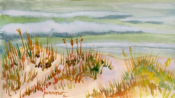 """Day Two Original Watercolor"" original fine art by Sue Furrow"