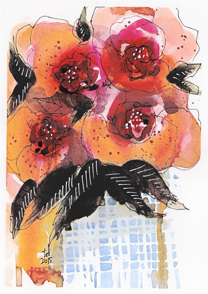 """That Vase Though"" original fine art by Tonya Doughty"