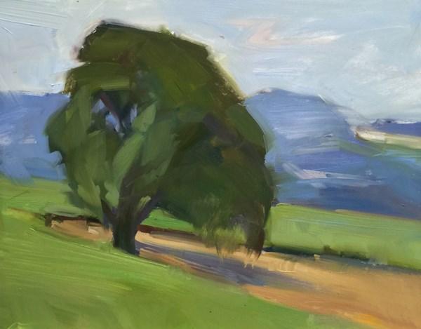 """Hillside Sentinel"" original fine art by Patti McNutt"