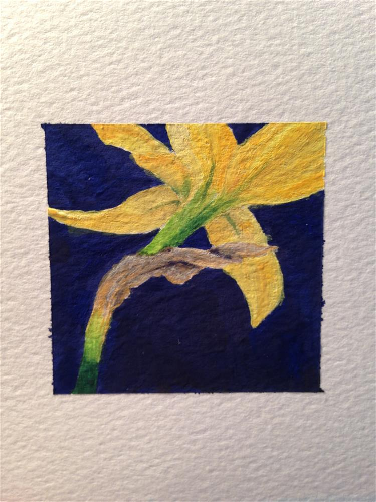 """Daffodil"" original fine art by Karen Collins"