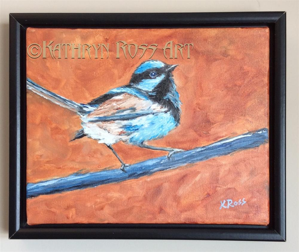 """Nuthatch"" original fine art by Kathryn Ross"