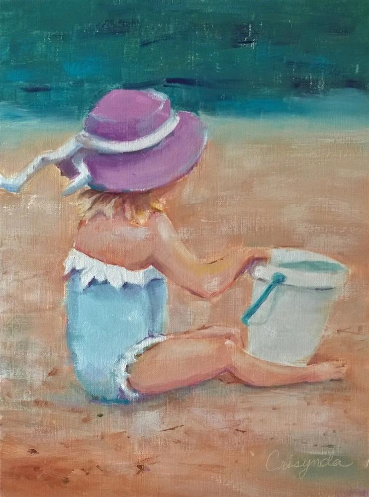 """Crystal Cove is a playground"" original fine art by Crisynda Buss"