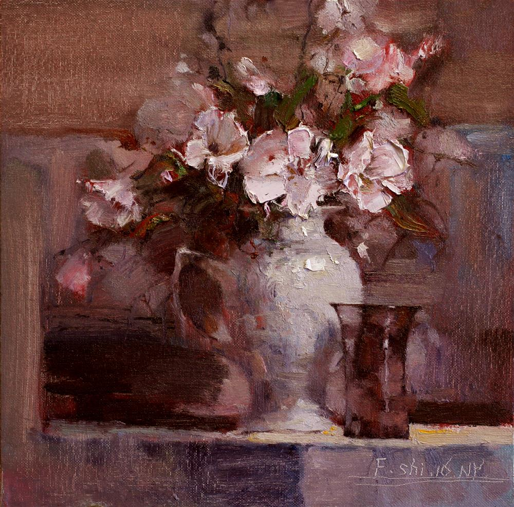 """Still Life"" original fine art by fengshi jin"