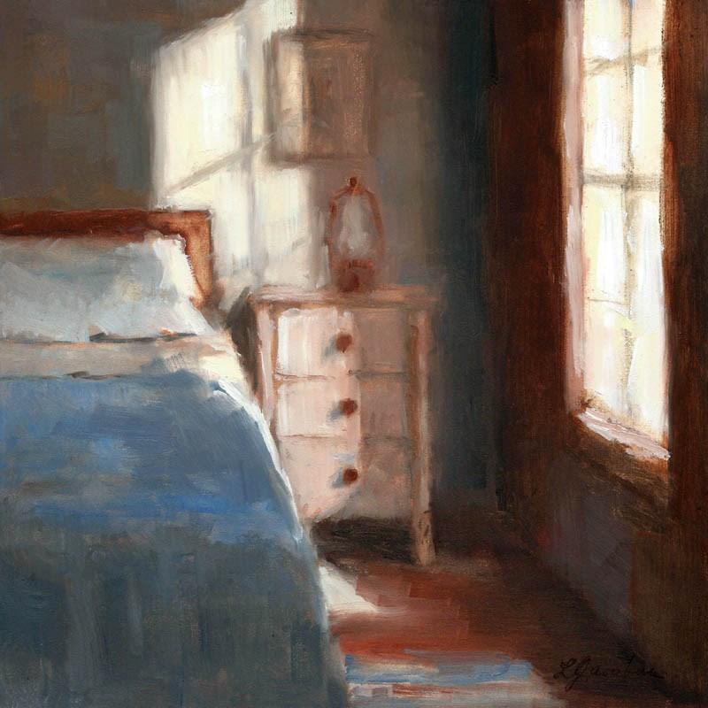 """""""Quiet Light"""" original fine art by Linda Jacobus"""
