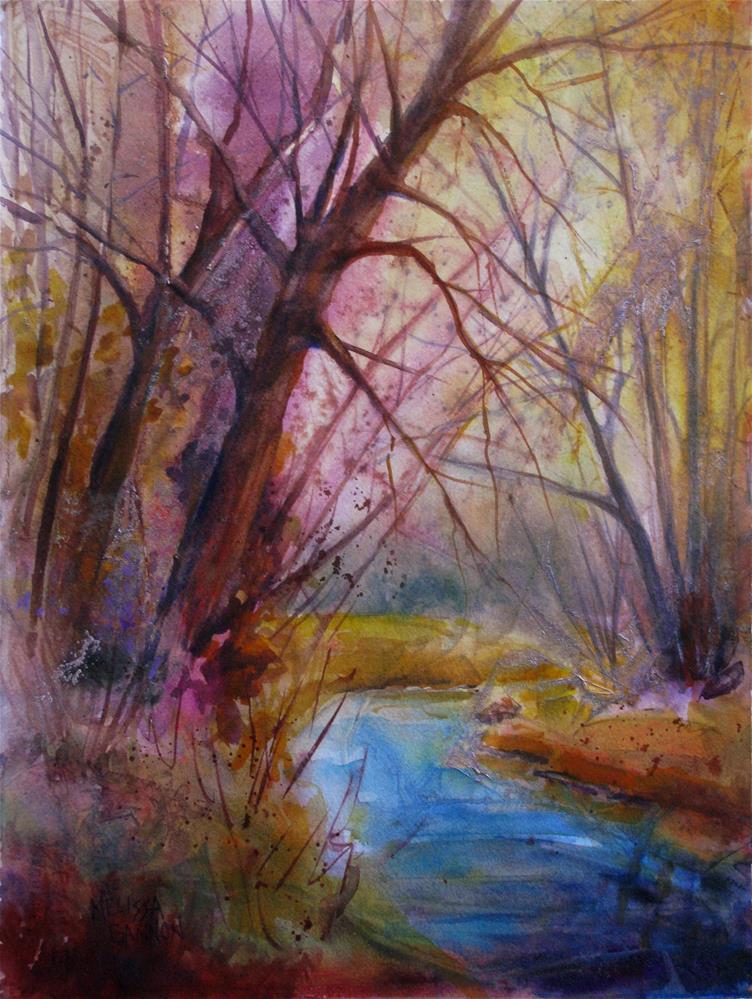 """Magic of Winter"" original fine art by Melissa Gannon"
