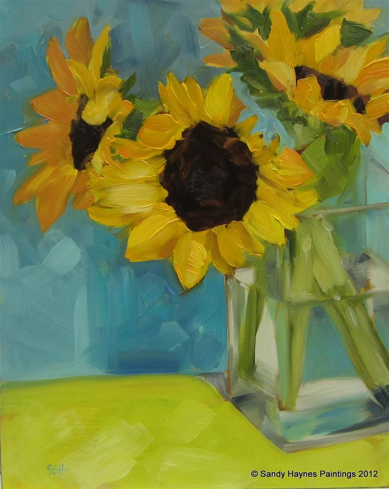 """""""With Lime, please"""" original fine art by Sandy Haynes"""