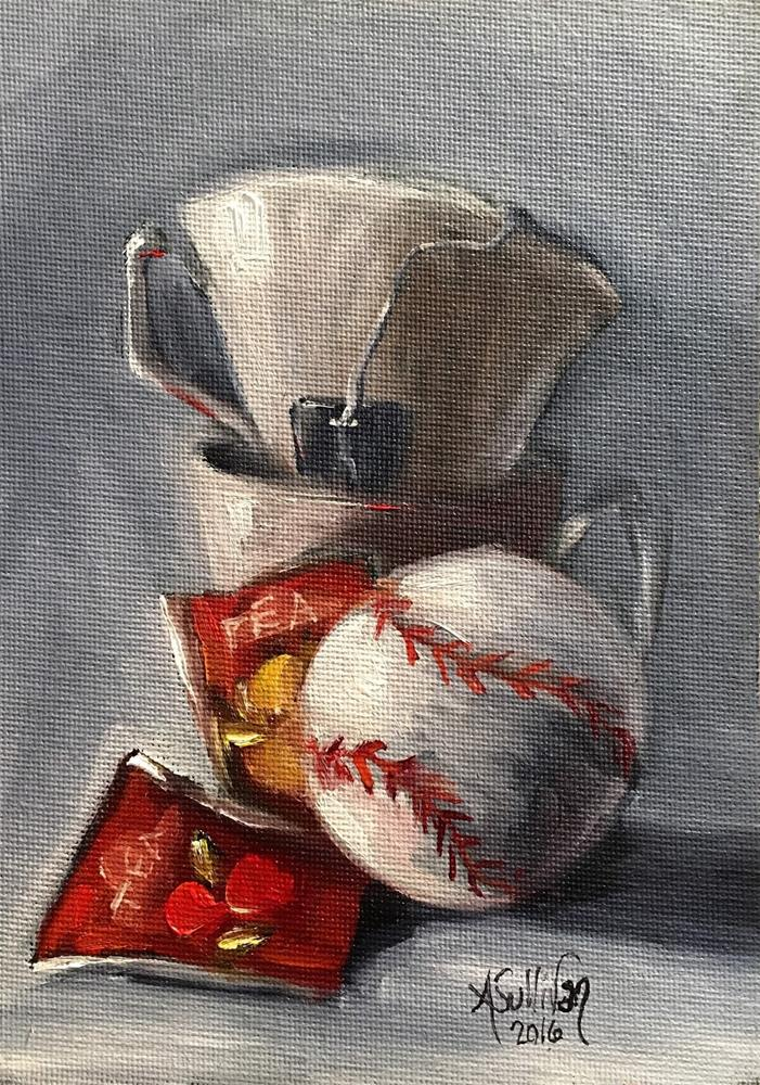 """Southern Born still life by Alabama Artist Angela Sullivan"" original fine art by Angela Sullivan"