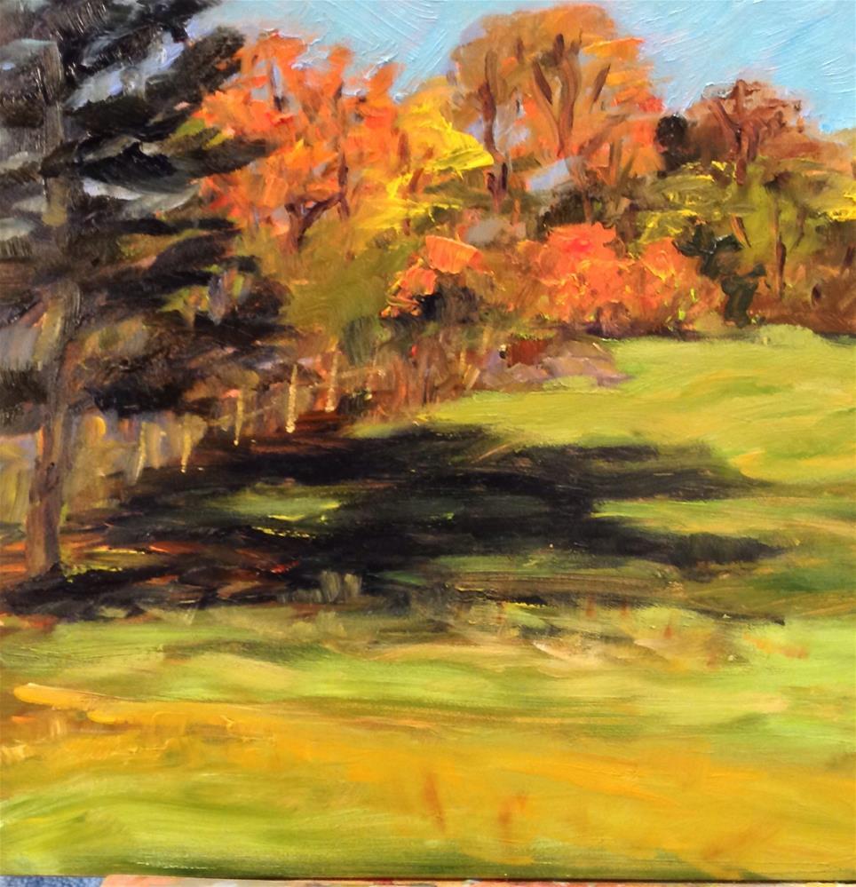 """""""Rock Meadow 3"""" original fine art by Debra Kennedy"""
