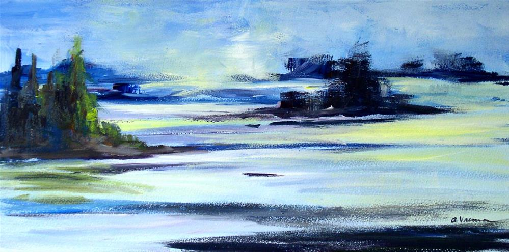 """Day 4 - Low Tide"" original fine art by Anna Vreman"