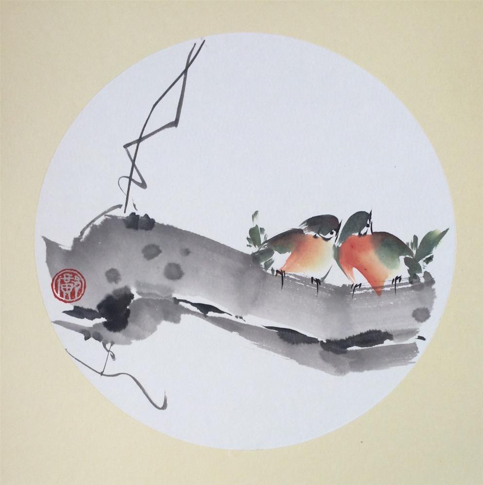 """Anticipate"" original fine art by R kwong"