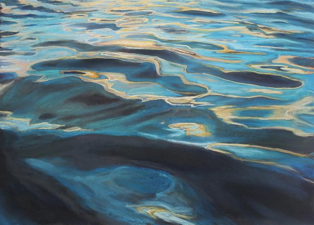 """Quicksilver"" original fine art by Linee Baird"