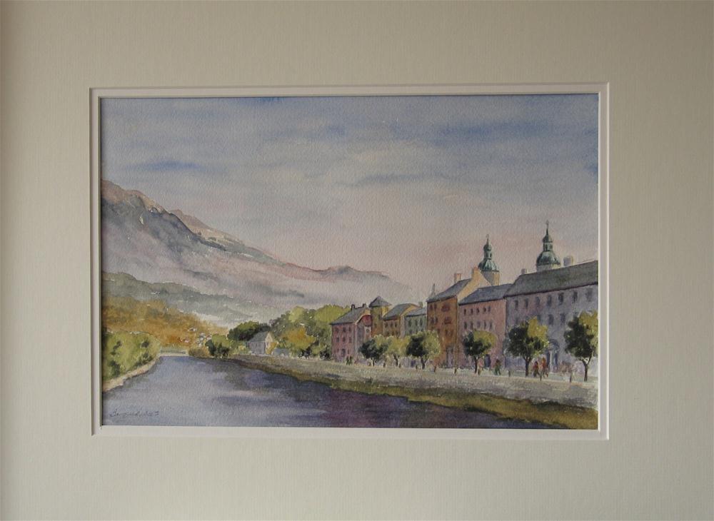"""Innsbruck Holiday"" original fine art by Vikki Bouffard"