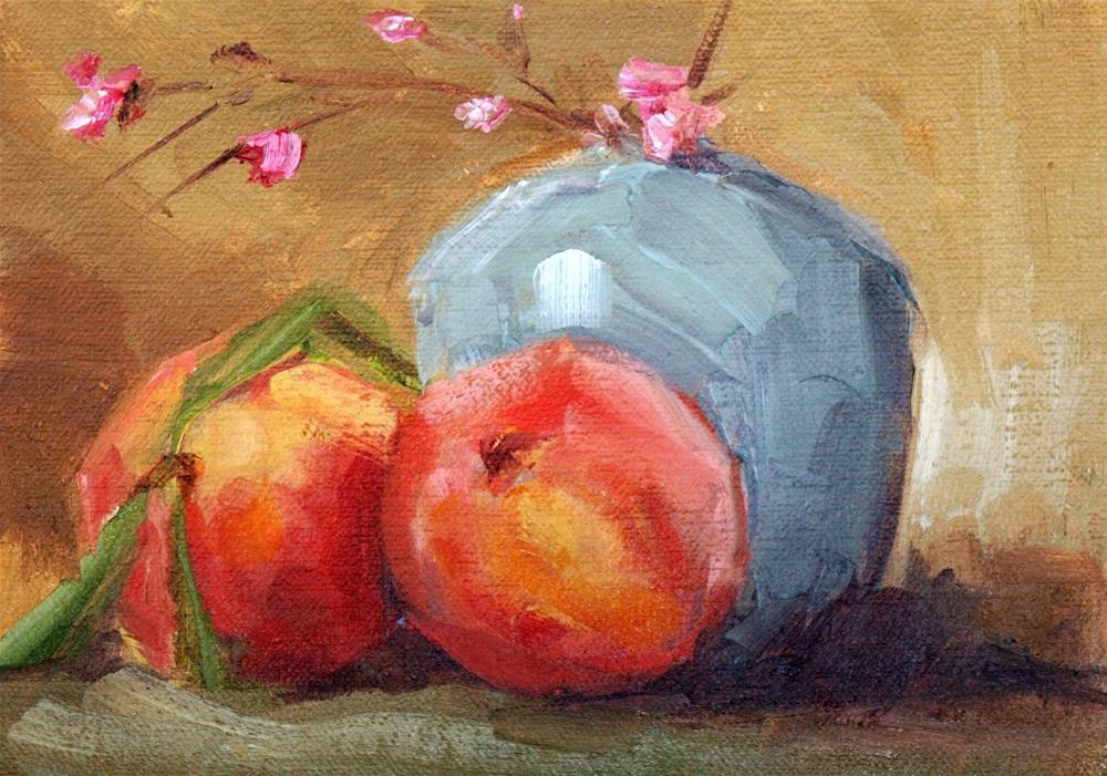 """sweet juicy"" original fine art by Carol Carmichael"