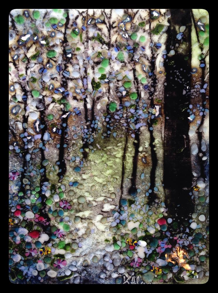 """Into the Forest"" original fine art by Kelly Alge"