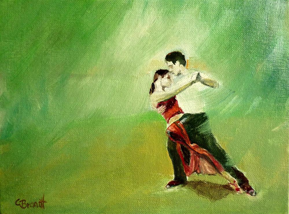 """dancing"" original fine art by Claudia Brandt"