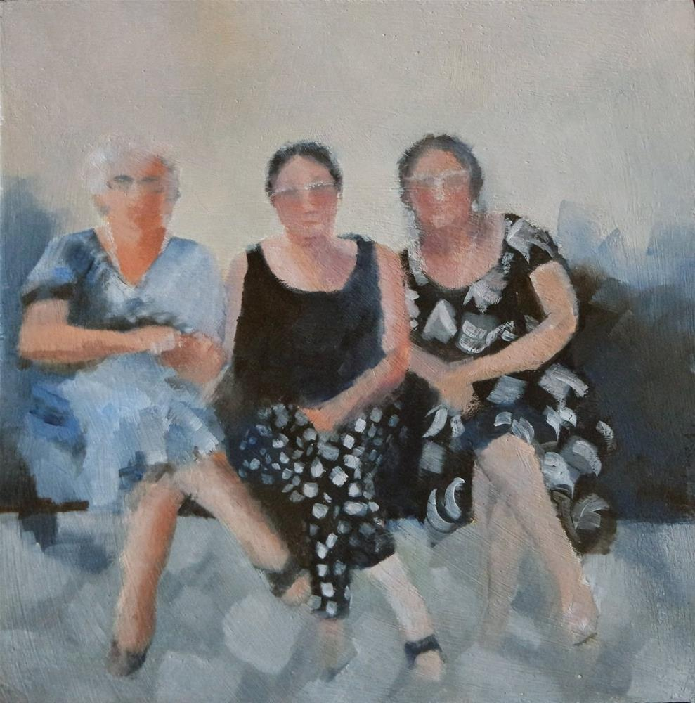 """Sisters"" original fine art by Cathy Holtom"
