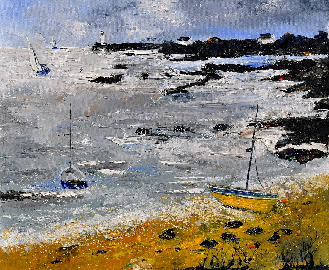 """seascape 670604"" original fine art by Pol Ledent"