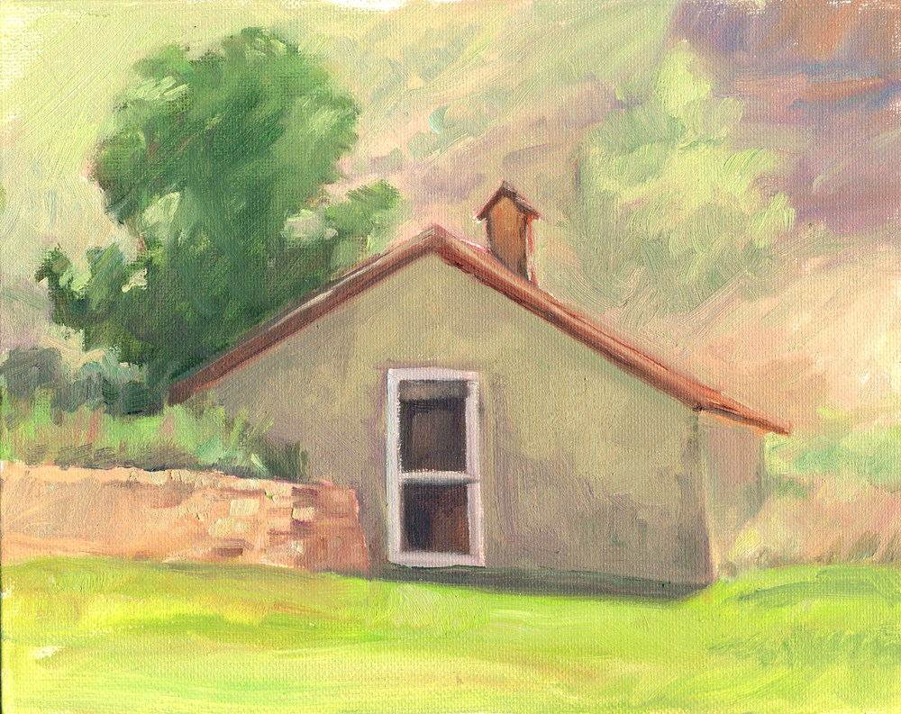 """The Icehouse"" original fine art by Kath Reilly"