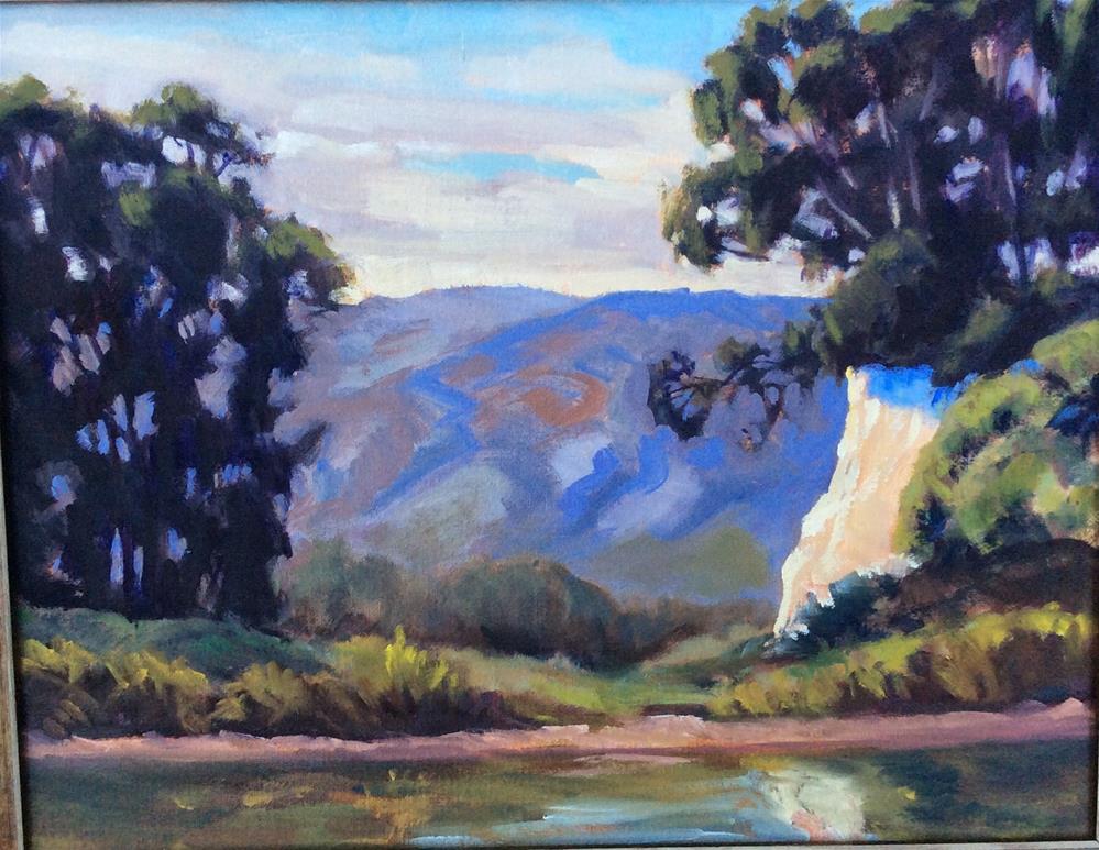 """The Gap"" original fine art by Leigh Alexandra Sparks"