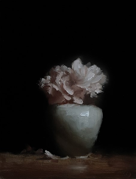"""Carnations"" original fine art by Neil Carroll"