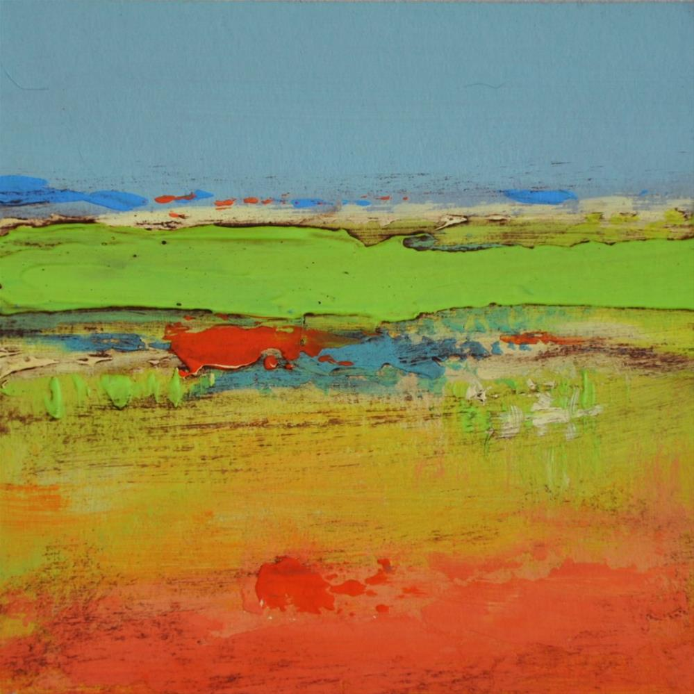 """Landscape 211"" original fine art by Ewa Kunicka"