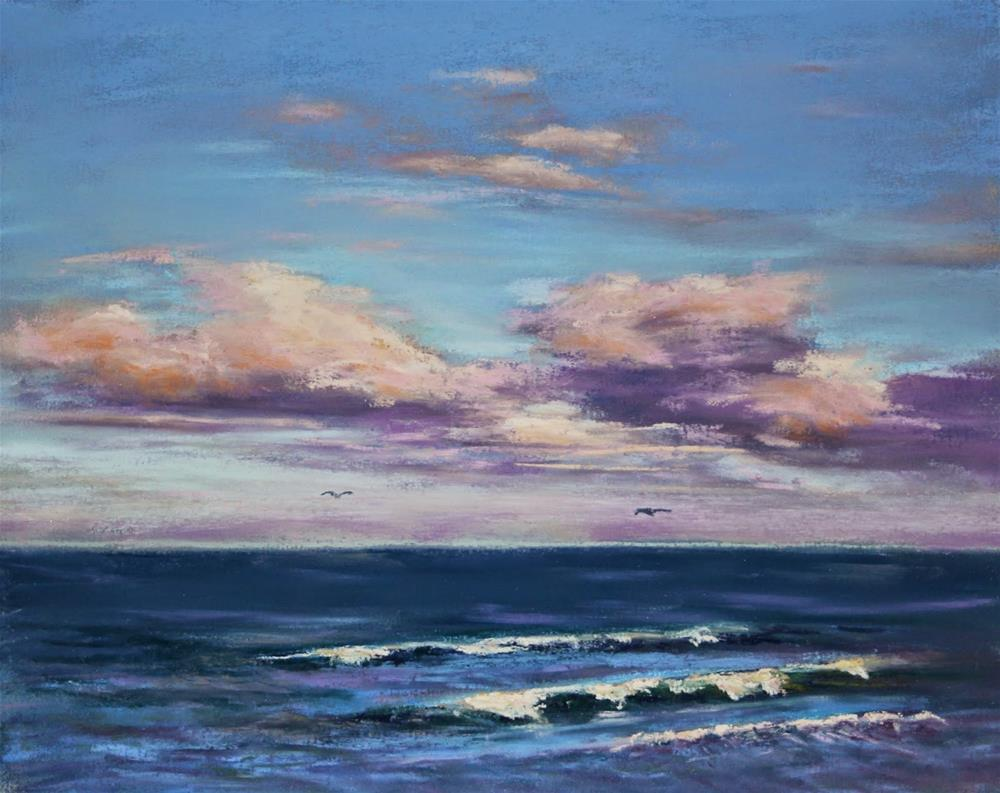 """Into the Distance"" original fine art by Sharon Lewis"