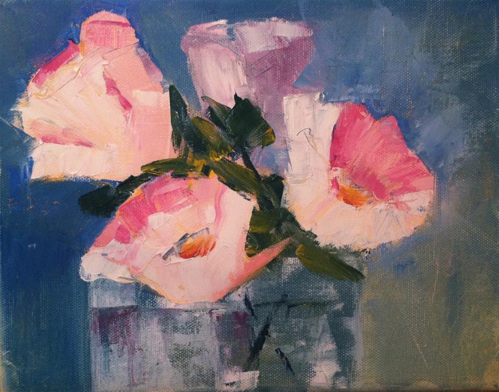 """""""Pink"""" original fine art by Karen Pinard"""