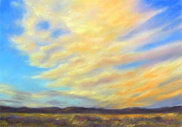 """Goldie Locks"" original fine art by Carol Zirkle"