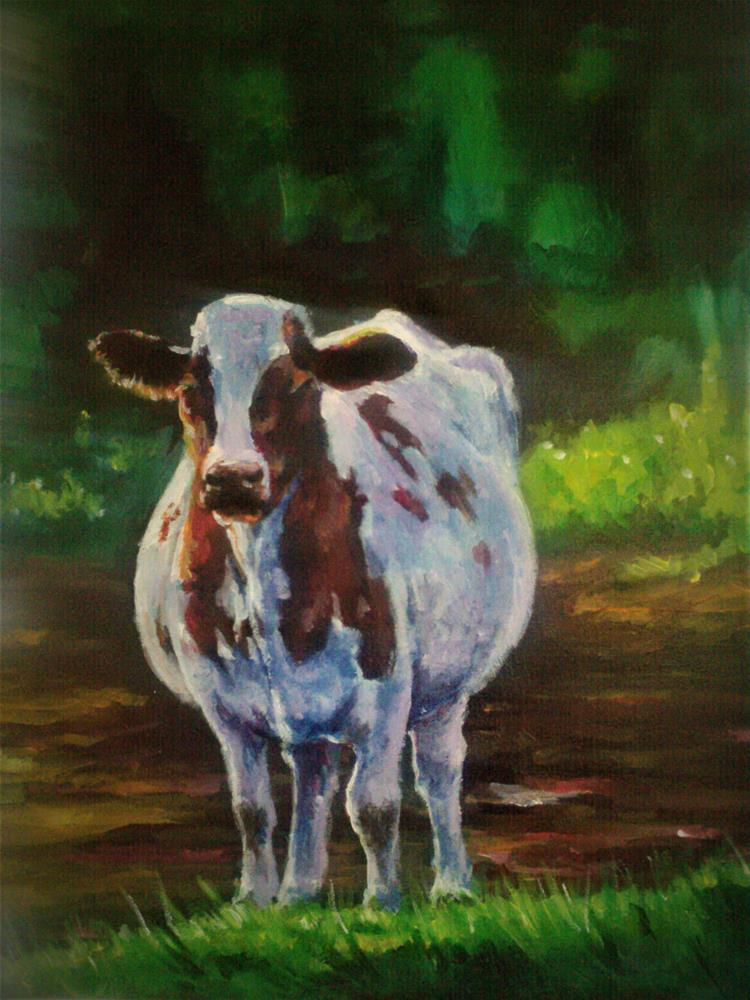"""Shorty"" original fine art by Kate Less-Madsen"