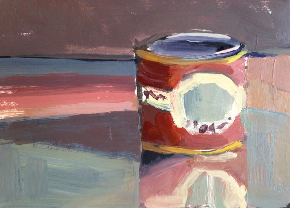 """Quotidian #4"" original fine art by Pamela Hoffmeister"