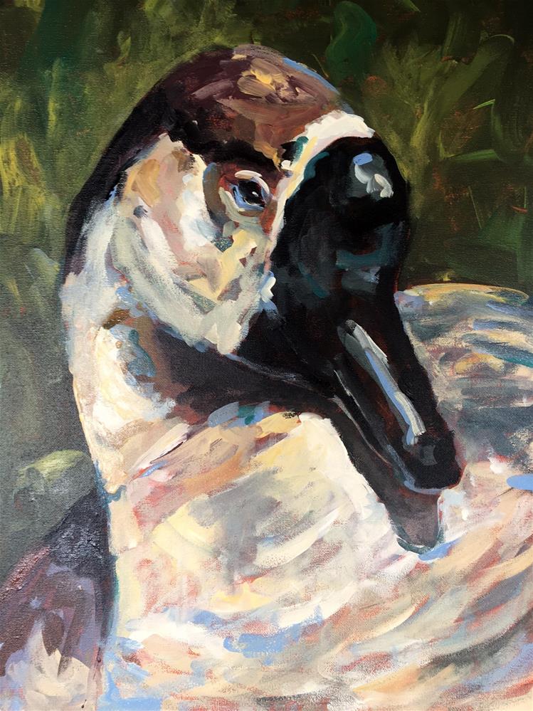 """Goose"" original fine art by Susan Elizabeth Jones"