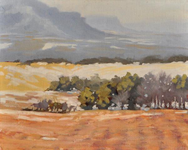 """Long View"" original fine art by Susan Matteson"
