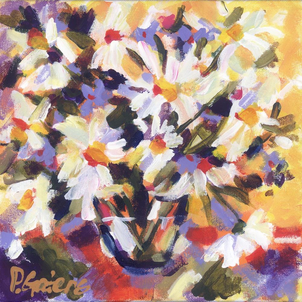 """Daisy Morning"" original fine art by Pamela Gatens"