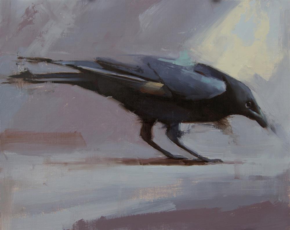 """Raven 2"" original fine art by Thorgrimur Andri Einarsson"