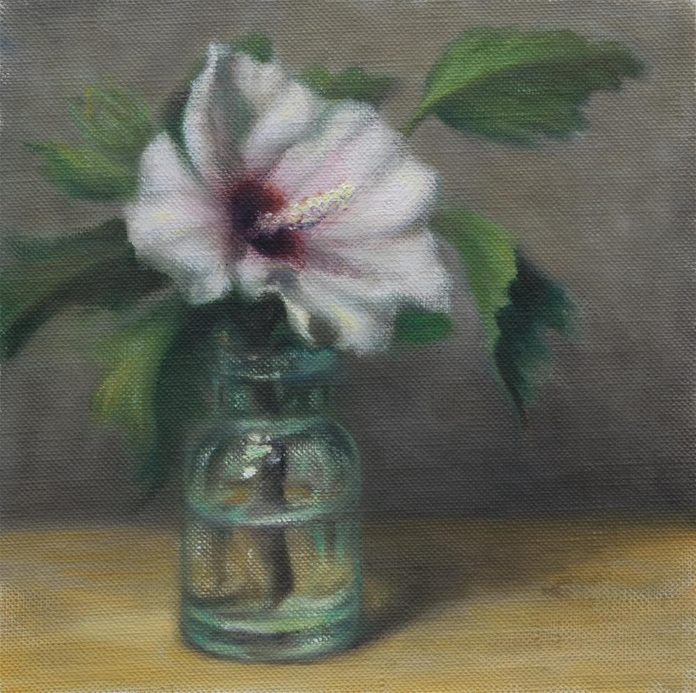 """Rose of Sharon II"" original fine art by Melissa  Imossi"