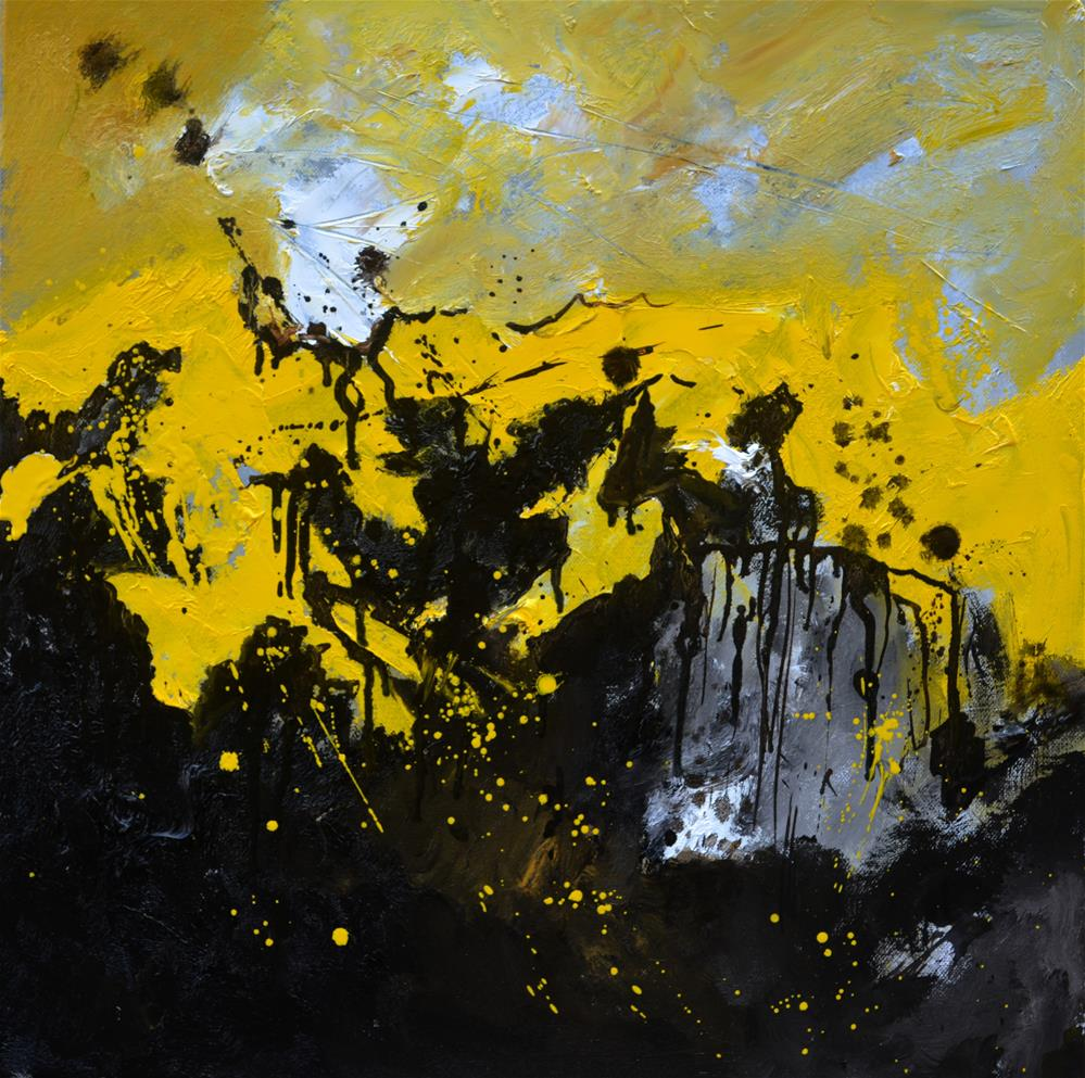 """Abstract 556190"" original fine art by Pol Ledent"