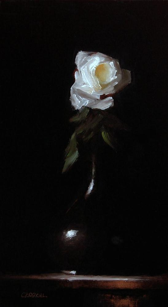 """Rose"" original fine art by Neil Carroll"