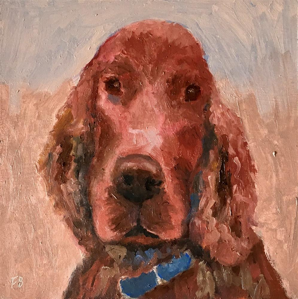 """""""282 Young Clancy"""" original fine art by Fred Bell"""
