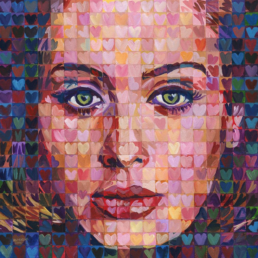 """I ♥ Adele"" original fine art by Randal Huiskens"