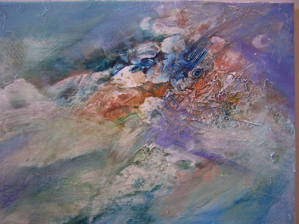 """New Beginnings"" original fine art by Joan Reive"