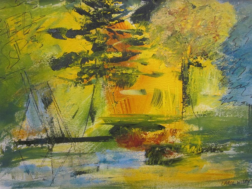 """A Sail Along the Coast"" original fine art by Carol Wiley"
