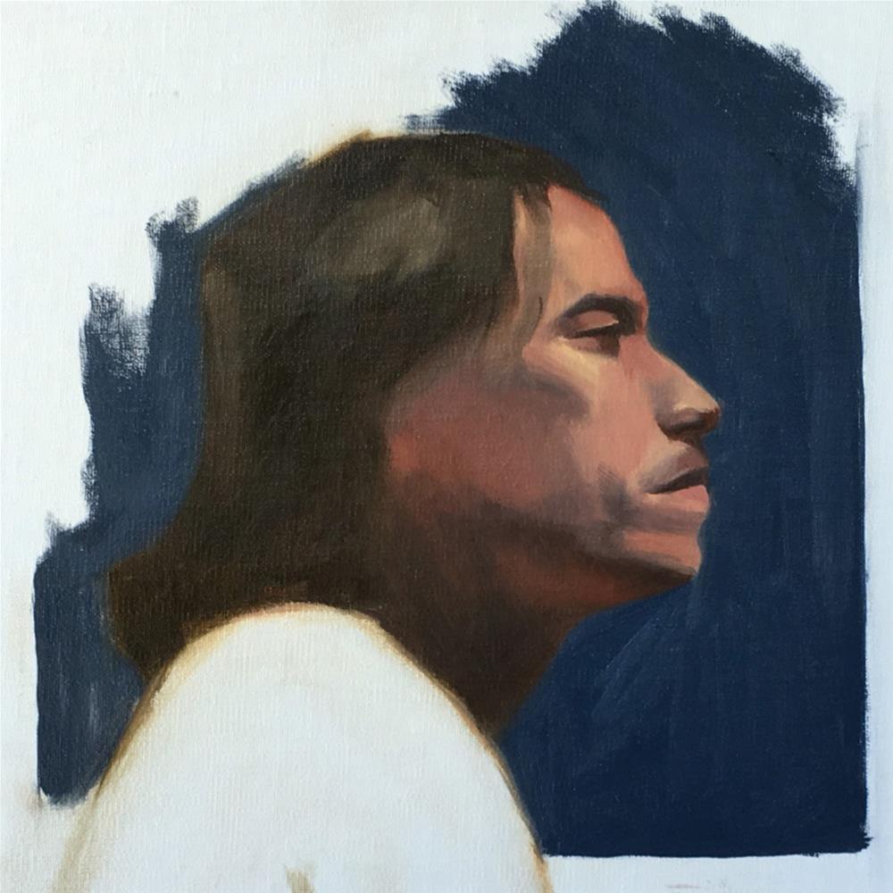 """""""Alla Prima"""" original fine art by Van DeGoede"""