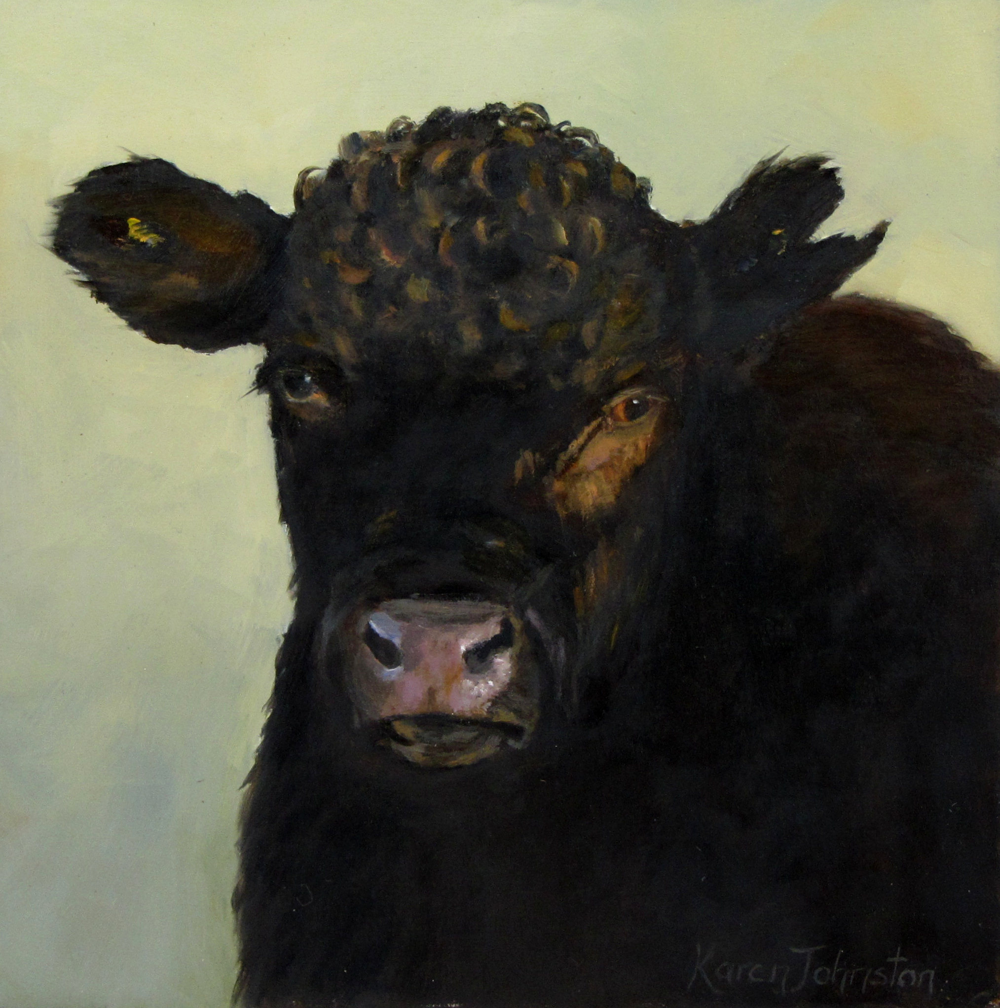 """Up Close and Personal"" original fine art by Karen Johnston"